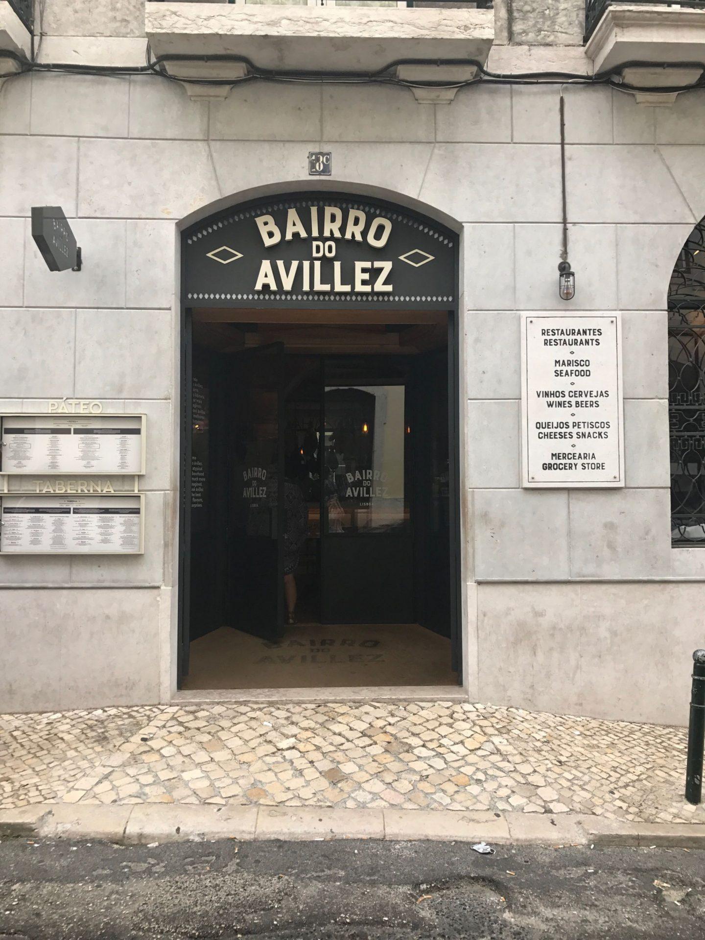 Bairro do Avillez