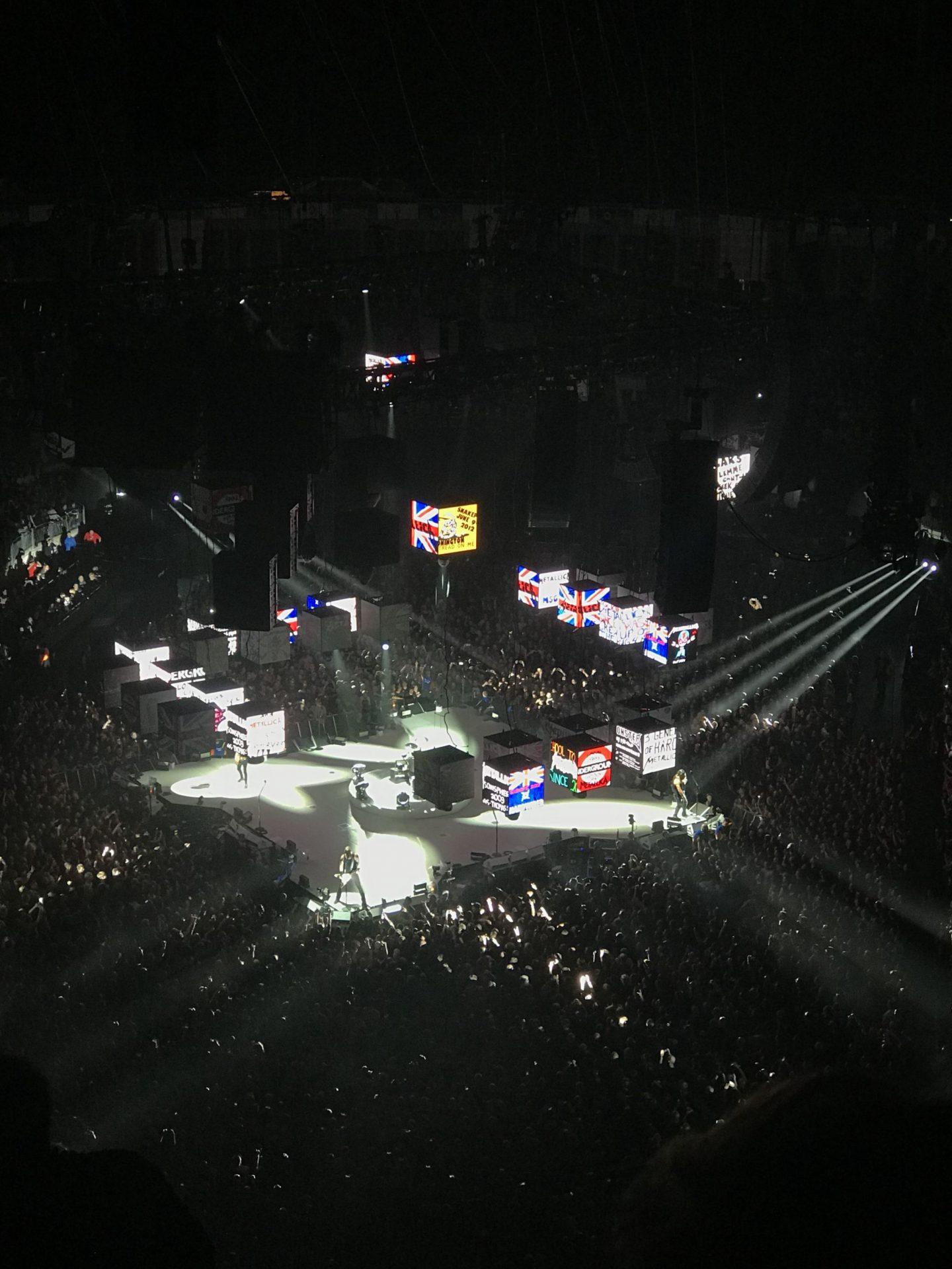 Metallica at the O2