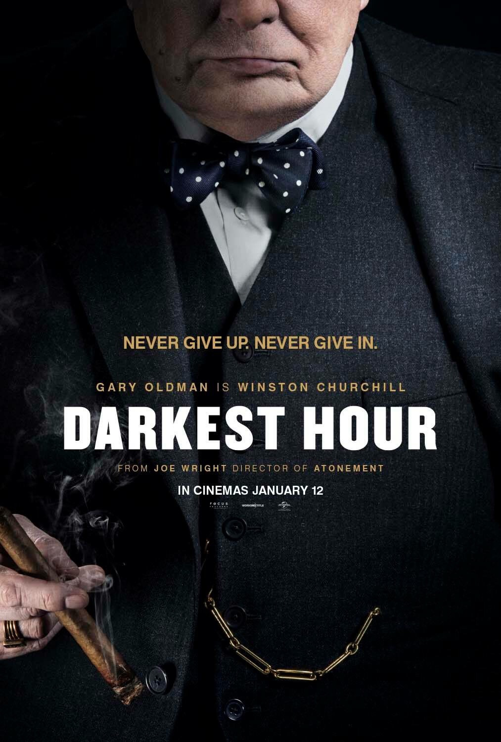 3 reasons to watch…Darkest Hour