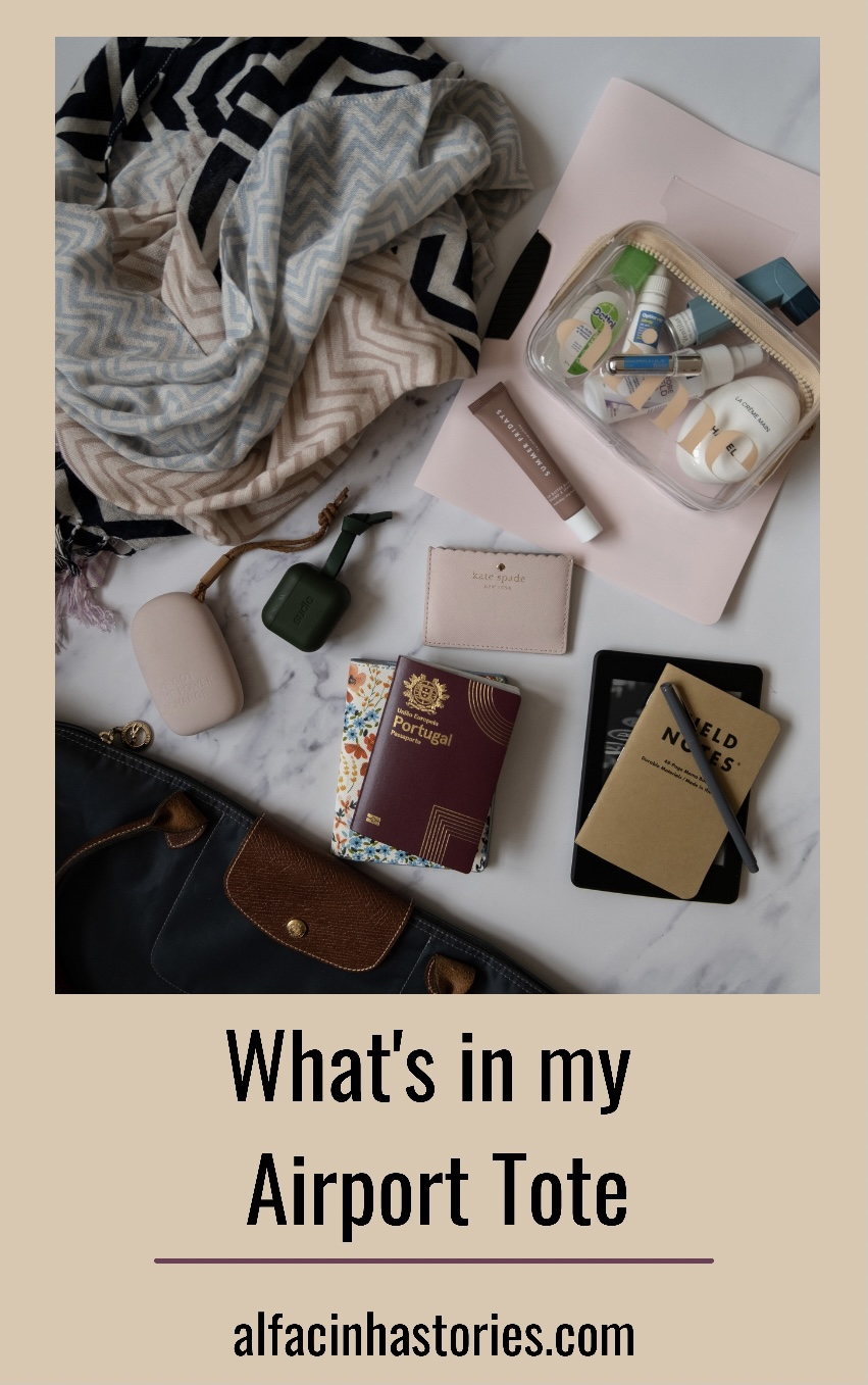 What's in my airport tote