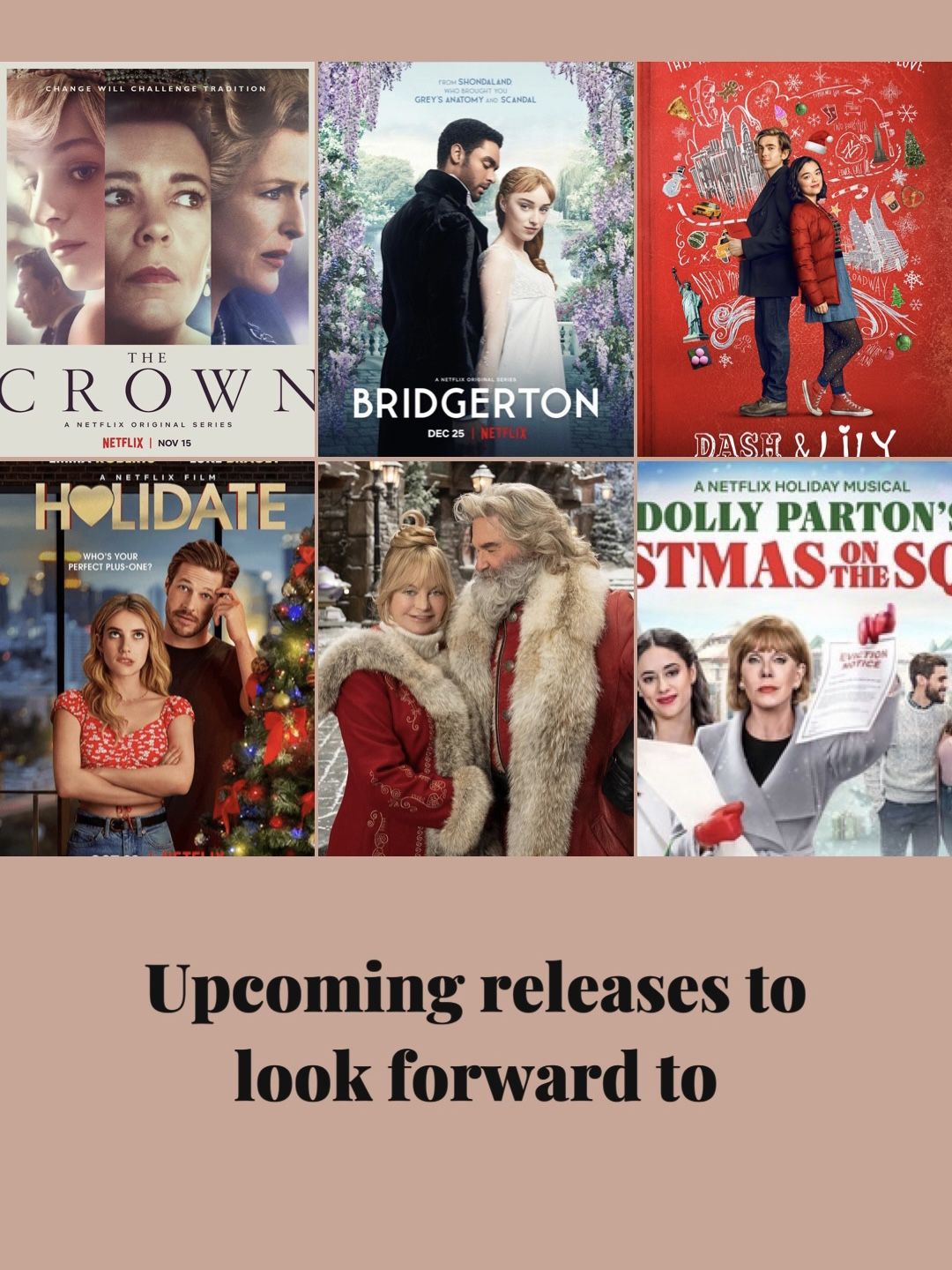 Upcoming releases to look forward to